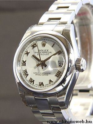 Rolex Lady Oyster Perpetual Datejust karóra